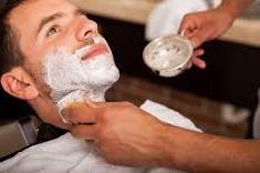 Using Shaving Cream
